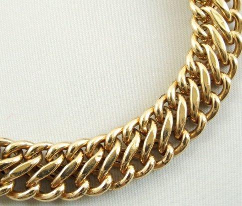 Vintage 14 karaat gouden armband