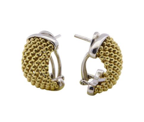 14 karaat gouden steker oorbellen