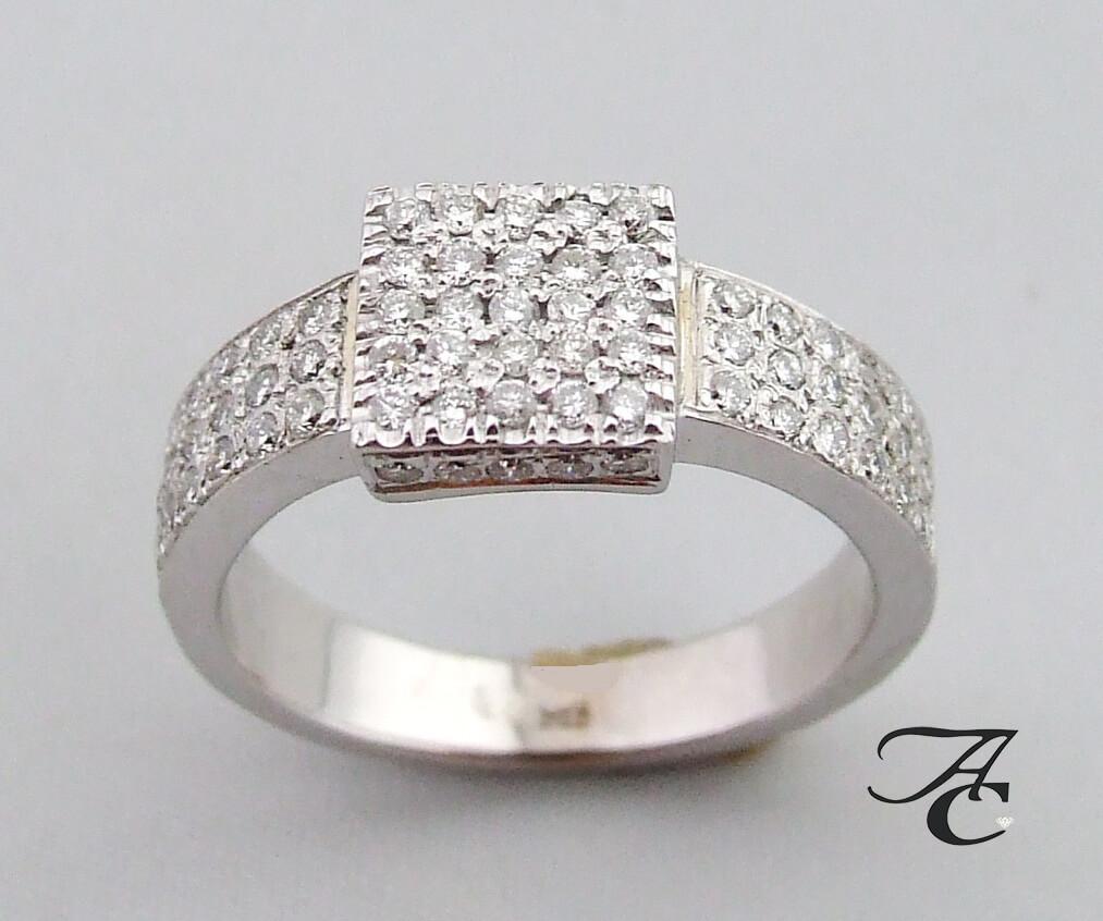 Geliefde Wit gouden ring met briljanten kopen? | Juwelier Christian ✅ UF41