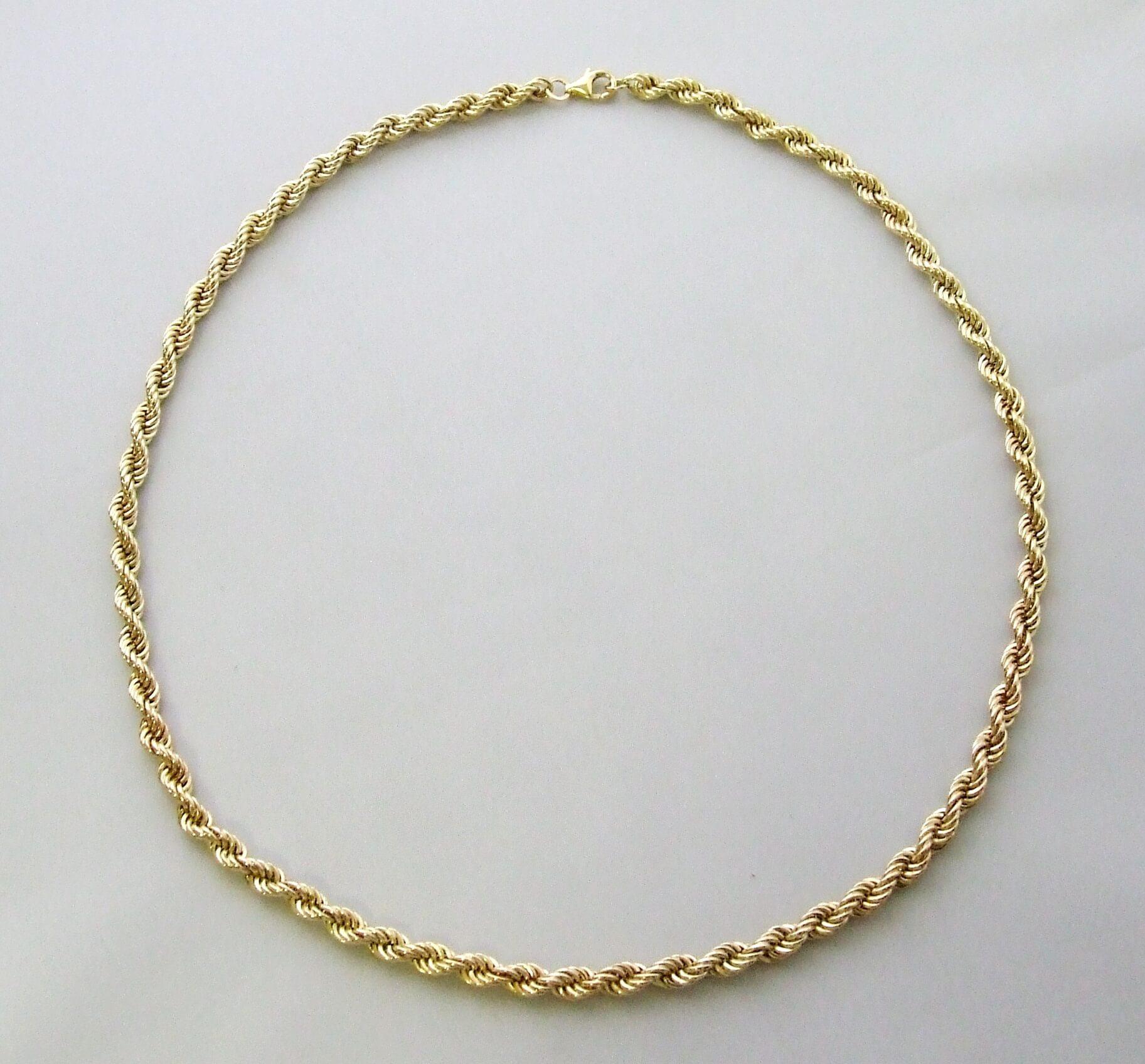 Christian 18 karaat gouden collier