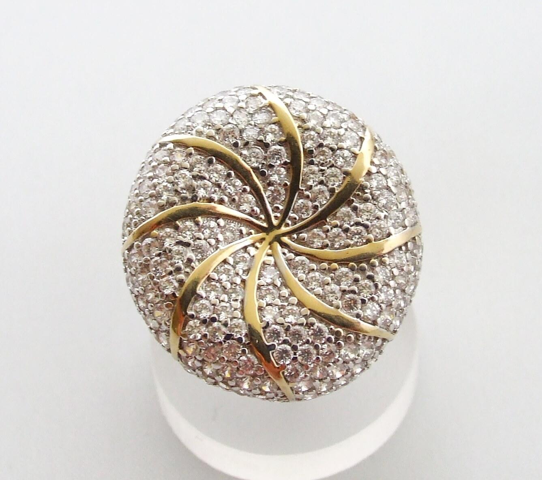 Christian gouden zirkonia ring