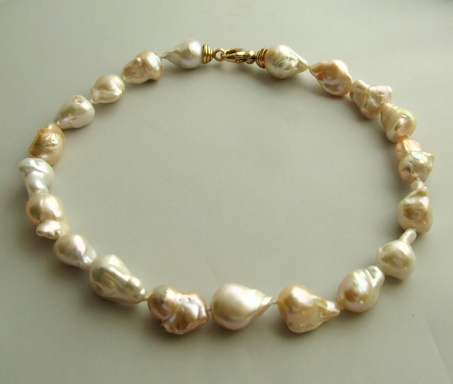 Barok parel collier