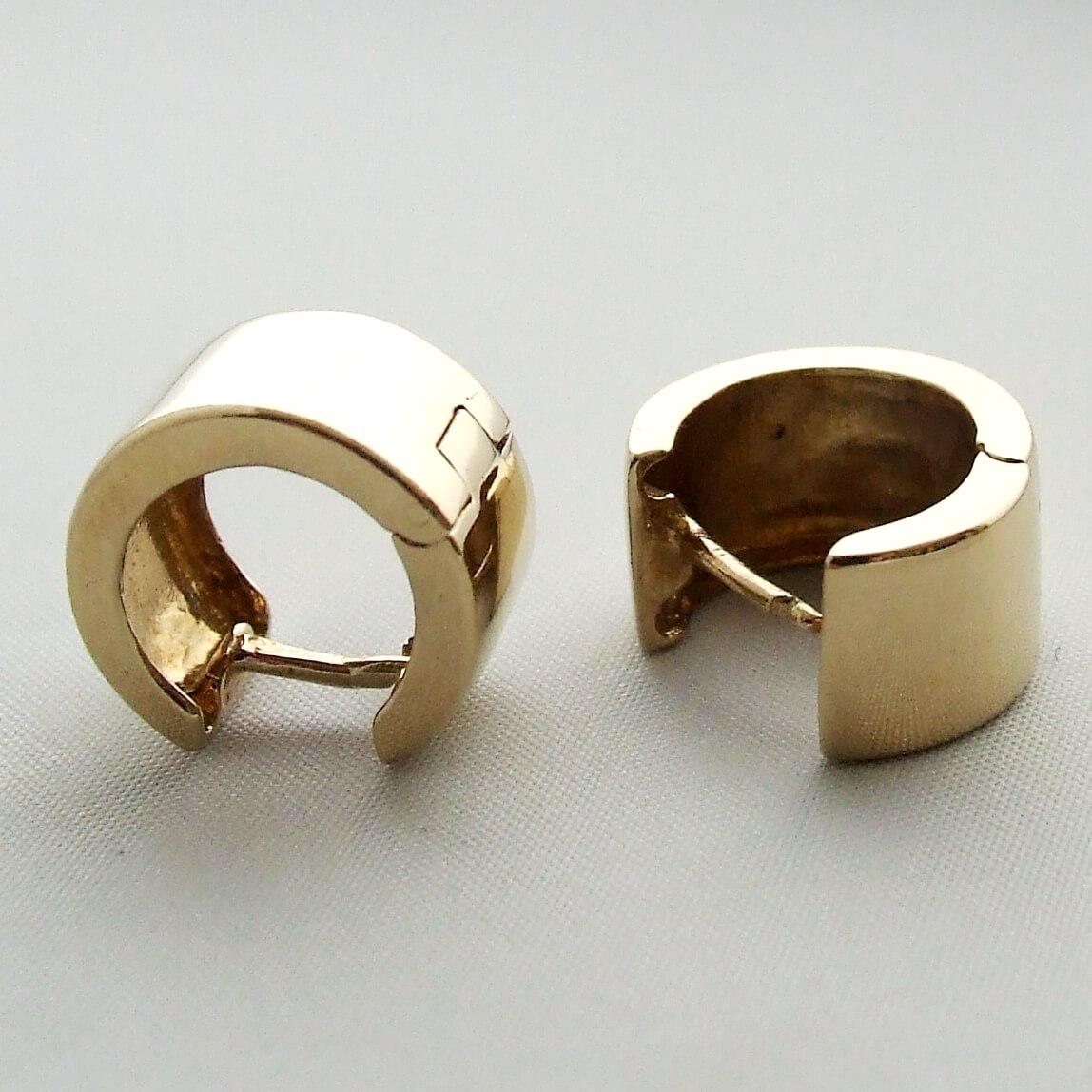 Gouden Christian oorbellen