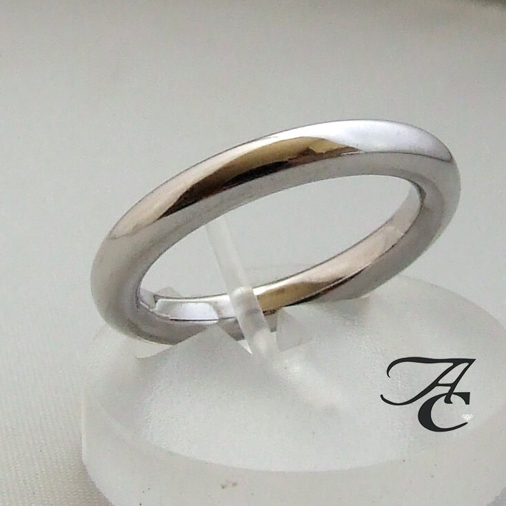 Atelier Christian wit gouden ring
