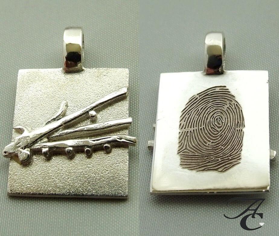 Fingerprint hanger