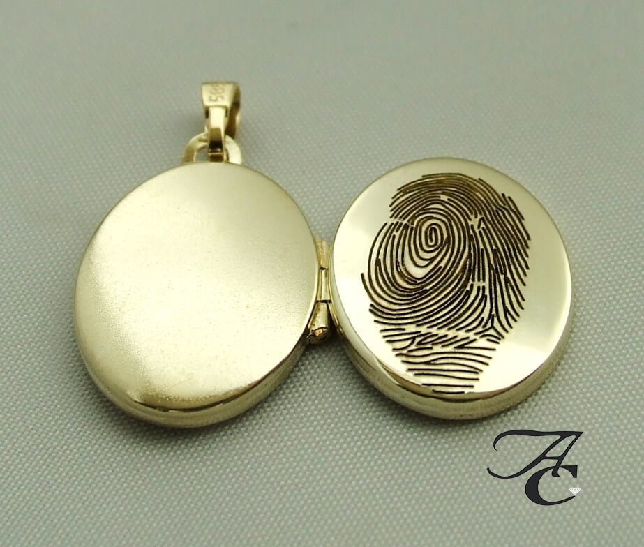 Fingerprint medaillon