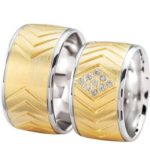 Christian trouwringen met diamanten