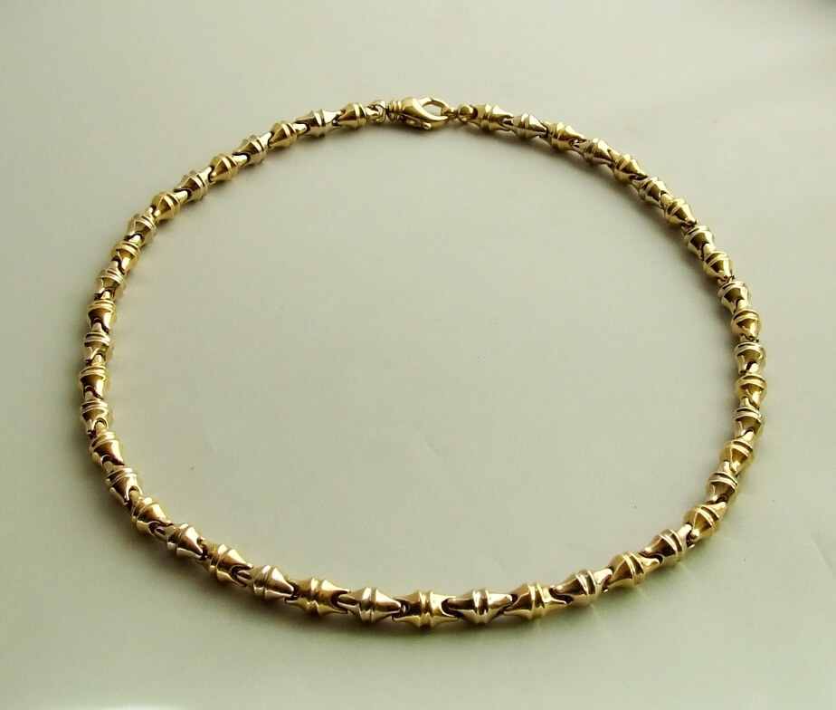 Christian geel gouden collier