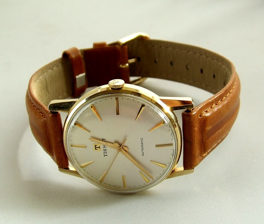 Gouden Tissot horloge