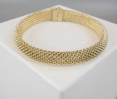 14 karaat gouden vintage armband