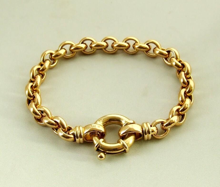 Christian gouden armband