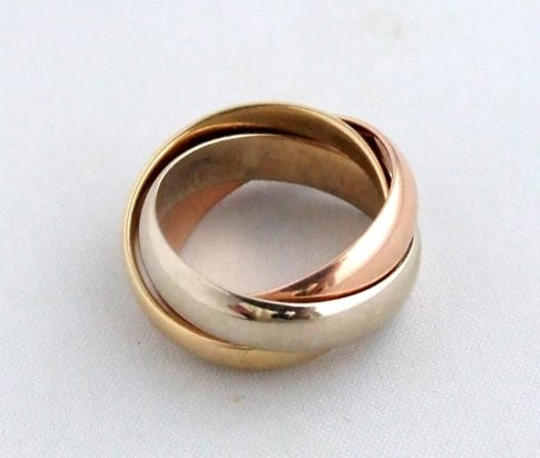 Occasion tricolor ring