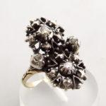 Antieke ring met roosdiamant