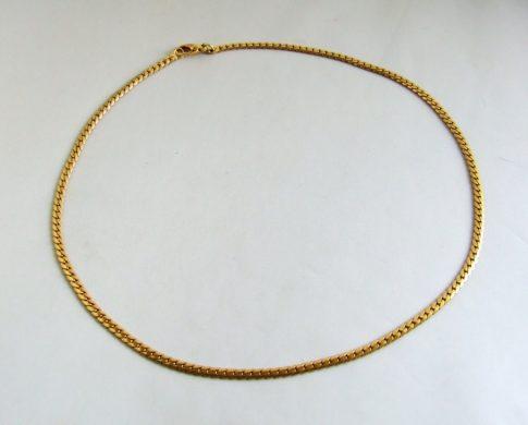 18 karaat geel gouden collier