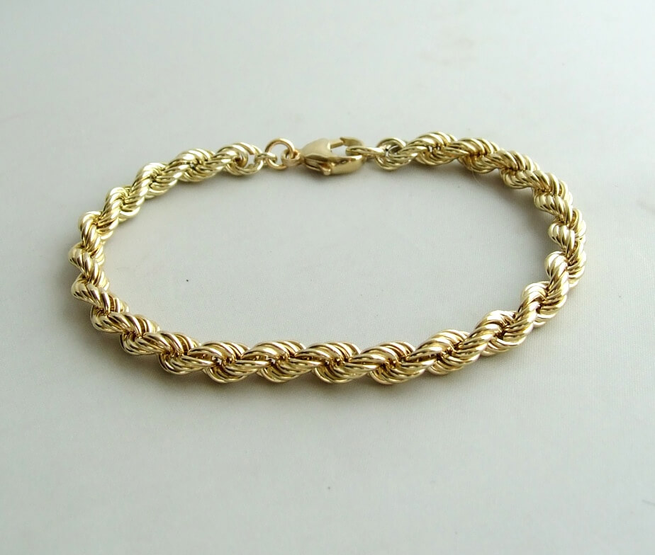 Geel gouden armband occasion