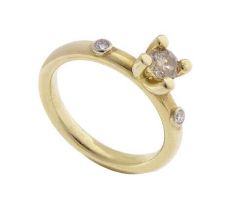 Atelier Christian 14 karaat gouden ring