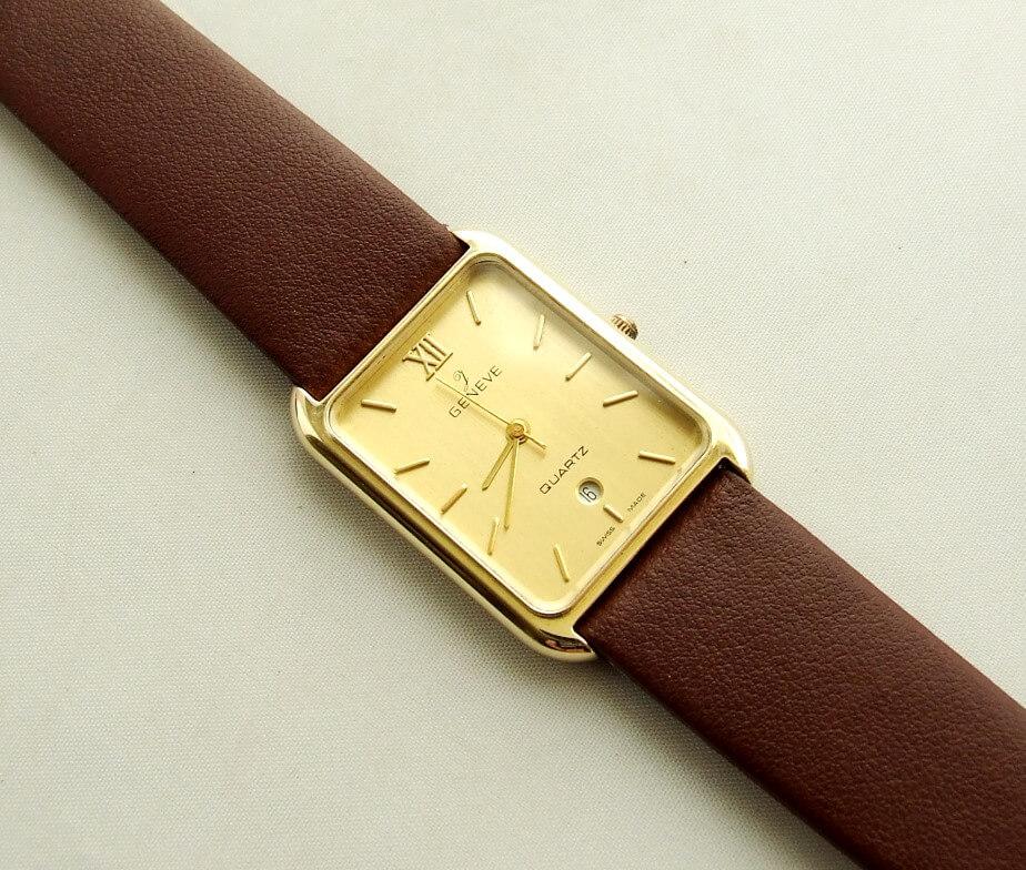 Gouden Genève horloge