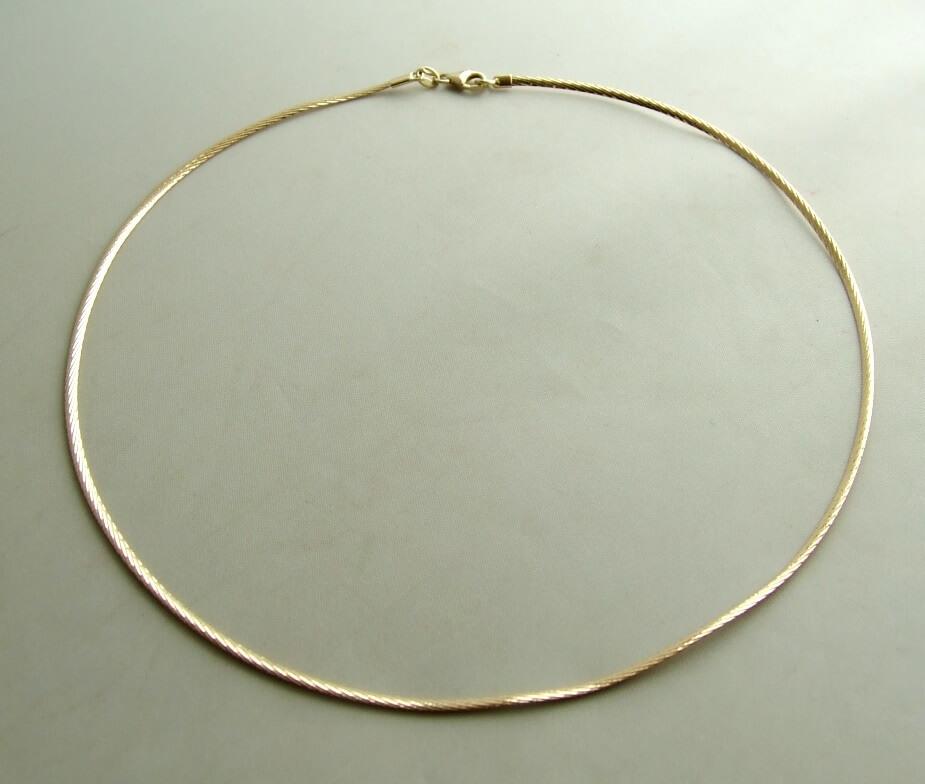 Gouden spang collier