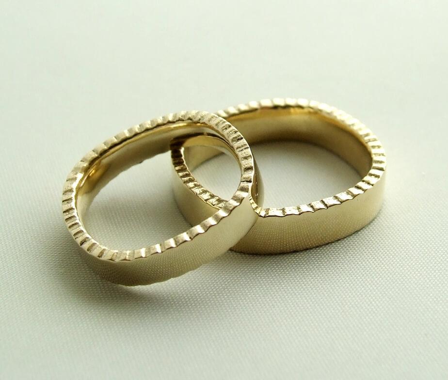 14 karaat gouden trouwringen