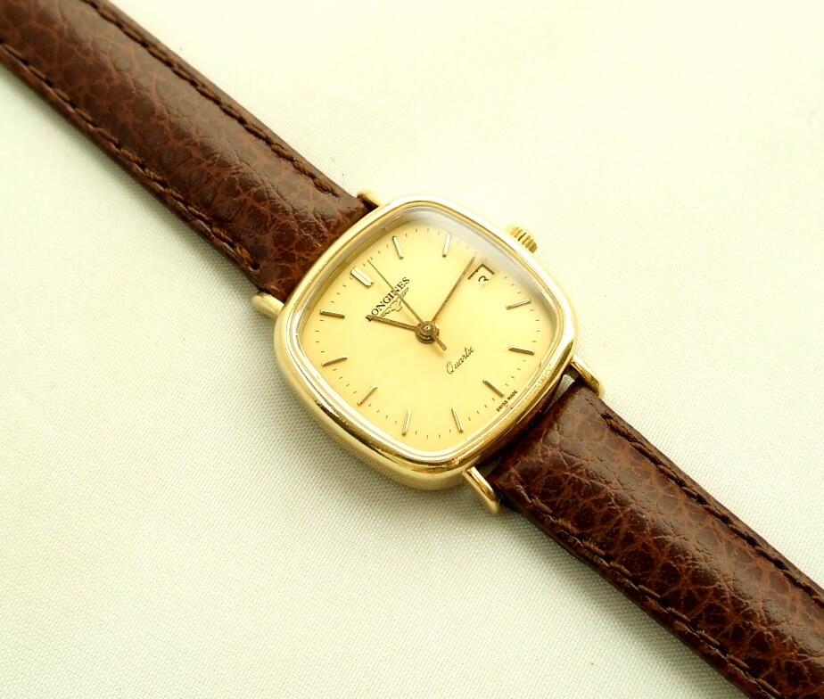 Gouden Longines dames horloge