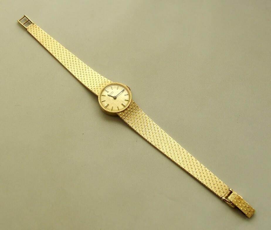 Gouden Bifora dames horloge