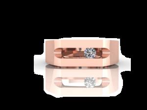 rose goud ring