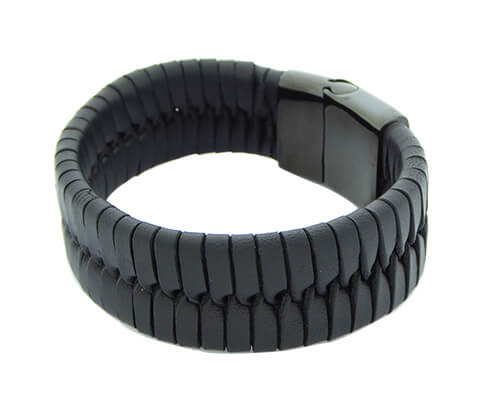 Christian Black Leather