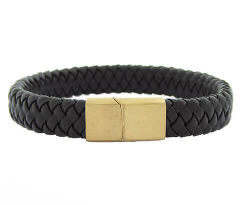 Christian Brown Leather Brown Clasp