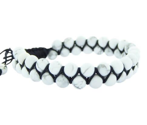 Christian White Beads