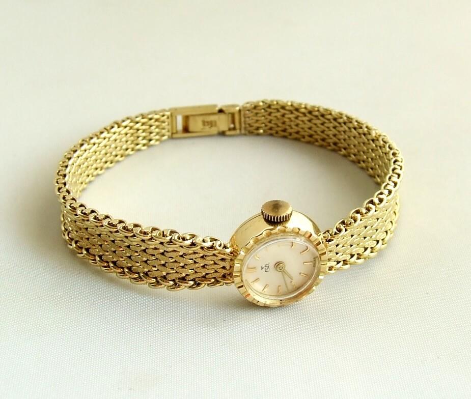 Gouden Ebel horloge