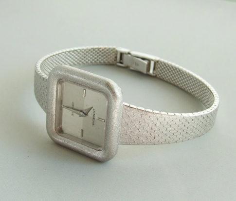Wit gouden Dugena Genève horloge