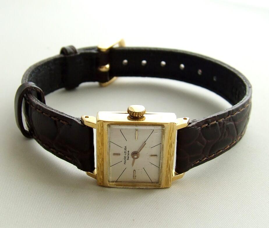 Favre Leuba Genève horloge