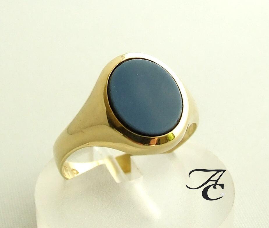 Gouden Jaspis ring