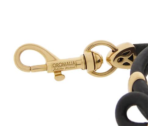 18 karaat Oromalia armband met diamanten