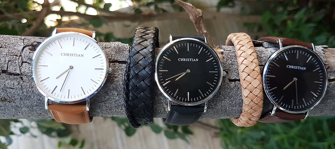 Christian horloges