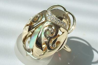 Meesterstuk Scarabee - Juwelier Christian
