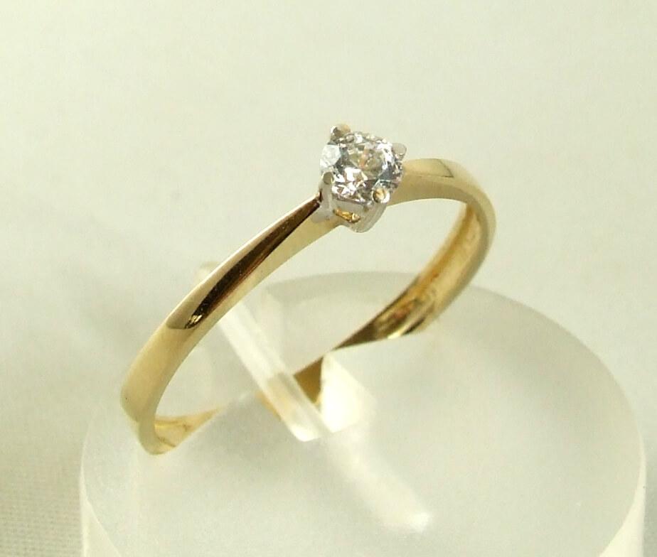 91d7c0c4b95 Atelier Christian 14 karaat gouden ring met zirkonia | Ring kopen? ✅