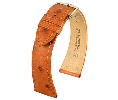 Hirsch horlogeband C26 04262 Massai Ostrich