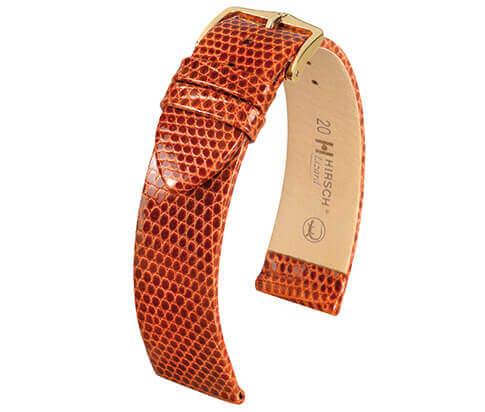 Hirsch horlogeband C28 01766 Lizard