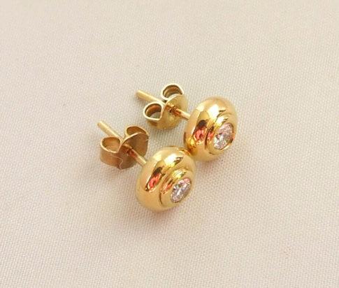 14 karaat gouden oorbellen