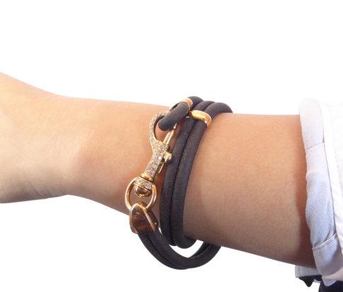 18 karaat armband met diamanten