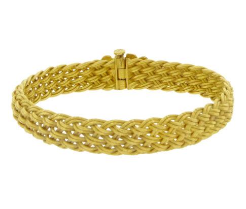 22 karaat geel gouden armband