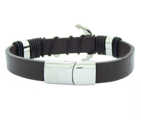 Christian Crossbow Black Bracelet