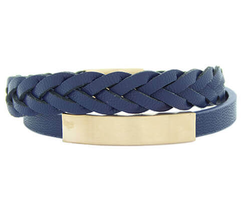 Christian Double Blue Bracelet