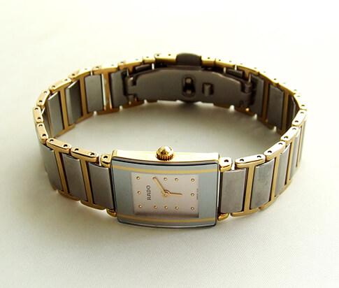 Rado dames horloge met titanium