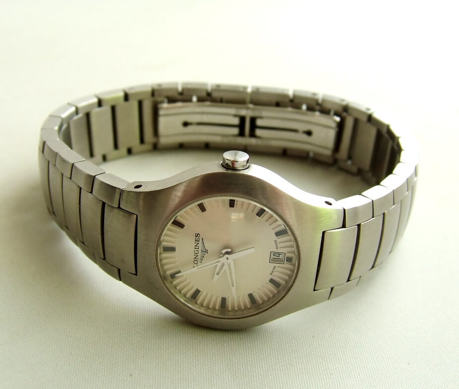 Stalen Longines dames horloge