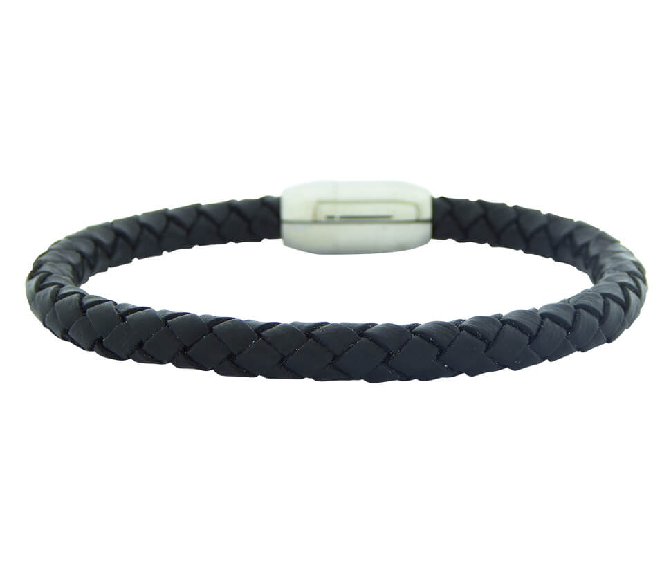 Christian Leather Bracelet