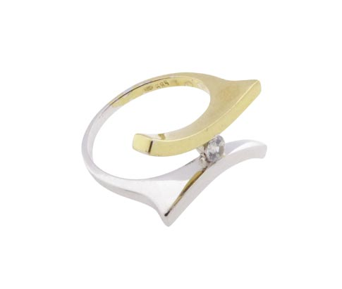 Atelier Christian bicolor gouden fantasie ring