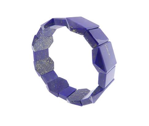 Christian armband lapis lazuli