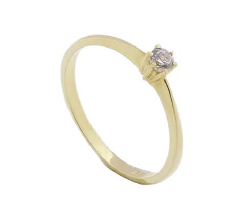 14 karaat bicolor gouden ring